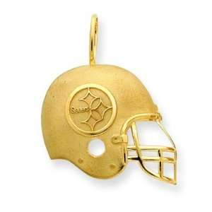 14k NFL Pittsburgh Steelers Helmet Charm  Sports