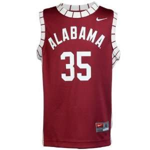 Nike Alabama Crimson Tide #35 Preschool Crimson Replica Basketball