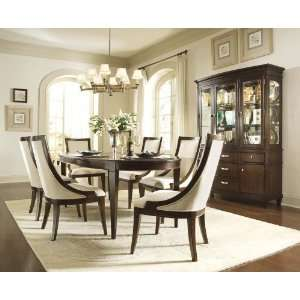 Table Set with Upholstered Chairs by Universal Furniture Home