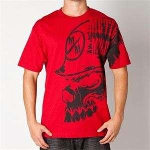 Metal Mulisha Peripheral T Shirt   Medium/Cardinal