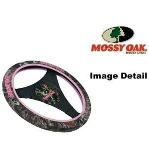 Oak Pink Camo Car Truck SUV Neoprene Steering Wheel Cover Automotive