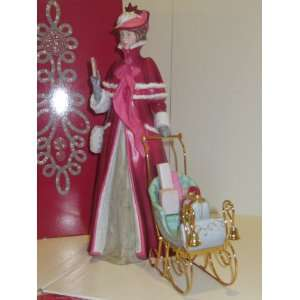 Mrs. Albee Victorian Porcelain Figurine, Full Size