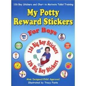 My Potty Reward Stickers for Boys 126 Boy Potty Training