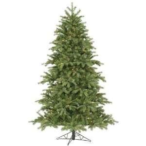 6.5 Pre Lit Redwood Christmas Tree   350 Multi Color