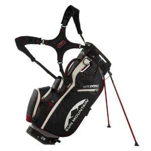 Sun Mountain 2012 Hybrid Golf Stand Bag (Gunmetal/Red)