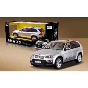 BMW X5 Remote Control Car in Silver Scale1/14 Toys & Games
