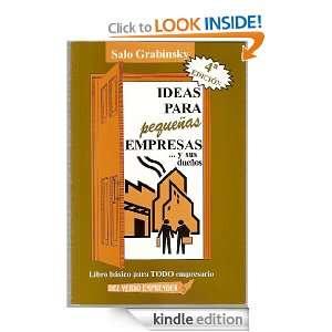 IDEAS PARA PEQUEÑAS EMPRESASy sus dueños (Spanish Edition) SALO