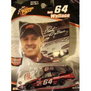Nascar AcTioN winners circle Rusty Wallace #64 BeLL car red n black