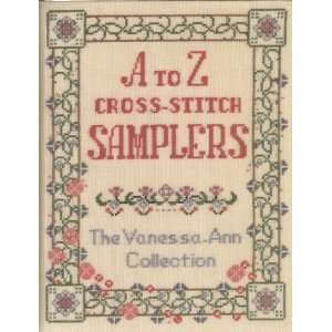 A To Z Cross stitch Samplers   The Vanessa ann Collection