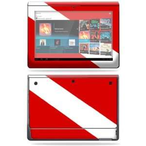 Vinyl Skin Decal Cover for Sony Tablet S Scuba Flag Electronics