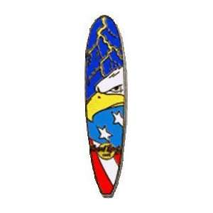 Hard Rock Cafe Pin 13636 Online Only Surfboard Everything