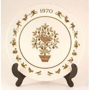 com Spode Christmas plate for 1970   On the Twelfth day of Christmas