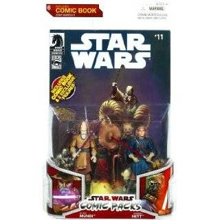 Star Wars Clone Wars Action Figure Comic 2 Pack Dark Horse Republic