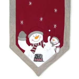 Tide Snowman Christmas Table Runner