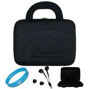 Black Cube Series Shell Hard Carrying case for Samsung