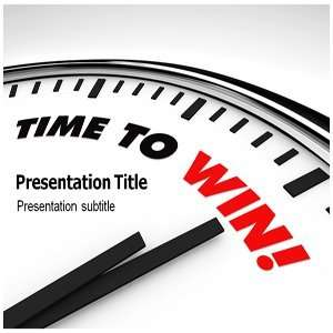 Time To Win Powerpoint Templates   Time To Win Powerpoint Backgrounds