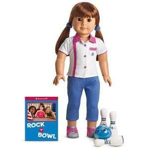 American Girl Bowling Team Set  Toys & Games