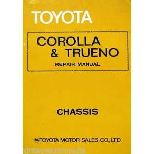 1976 Toyota Corolla & Trueno Chassis Repair Manual