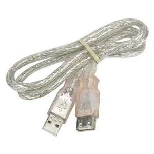 USB 2.0 Extension Cable, Type A Male to A Female (3 Feet