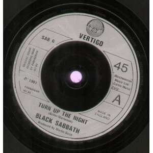 THE NIGHT 7 INCH (7 VINYL 45) UK VERTIGO 1981 BLACK SABBATH Music