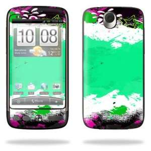 Vinyl Skin Decal Cover for HTC Desire Smart Phone Cell Phone   Paint