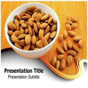 Almond Powerpoint Templates   Almond Powerpoint Background