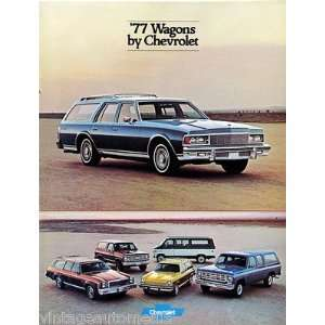 1977 Chevrolet Wagons vehicle brochure Everything Else