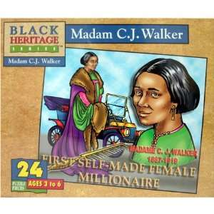 Madam C.J. Walker Jigsaw Puzzle 24pc Toys & Games