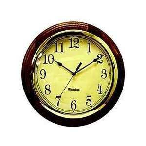 kassel 31 day wood wall clock