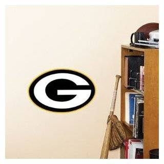 Fathead Green Bay Packers Logo Wall Decal: Sports