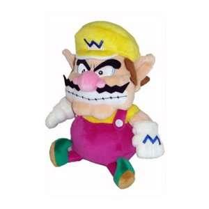 Sanei   Super Mario Bros. peluche Wario 24 cm Toys & Games