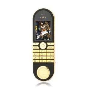 Fashion Design with Watch Cell Phone Gold (2GB TF Card) Electronics