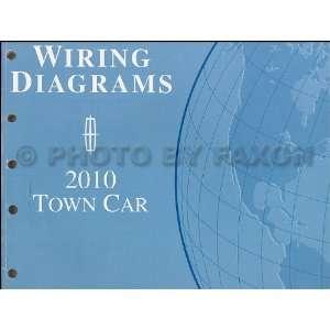 2010 Lincoln Town Car Wiring Diagram Manual Original Lincoln Books