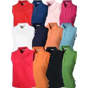 Ashworth Womens Sleeveless Golf Polo Shirt     WM30038