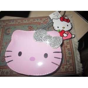 Hello Kitty Coin Purse Head Wristlet