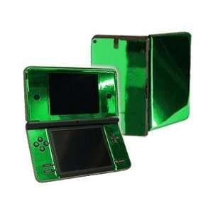 Nintendo DSi XL Color Skin   NEW   GREEN CHROME MIRROR system skins