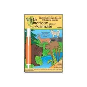 North American Animals Activity Book 1 w Invisible Ink  Toys & Games