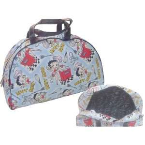 Betty Boop Large Handbag Tote Travel Bag baby Blue