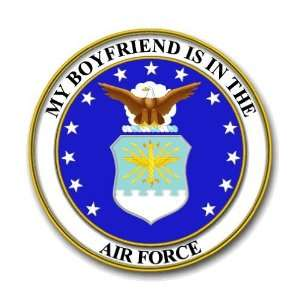 US Air Force Pride My Boyfriend is in the Air Force Decal Sticker 3.8