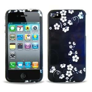 Midnight Flowers Protector Case for iPhone 4