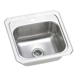 Elkay BCR151 Gourmet Celebrity Sink, Stainless Steel