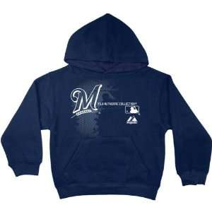 Navy AC MLB Change Up Hooded Fleece Sweatshirt