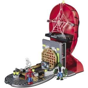 Amazing Spider Man Face off Playset Mega Bloks 2068 Toys