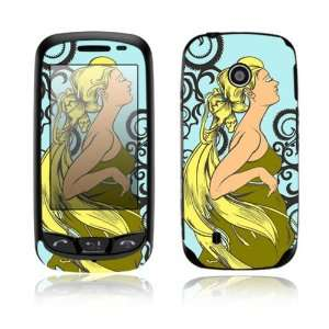 Dreamer Design Decorative Skin Cover Decal Sticker for LG Cosmos Touch