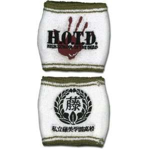 High School Of The Dead Logo Wristband Toys & Games