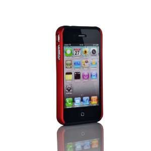 Black&Red 2 Piece Hard Case Cover For Apple iPhone 4 4G
