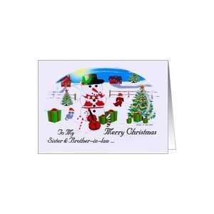 To My Sister & Brother in law Merry Christmas / Christmas