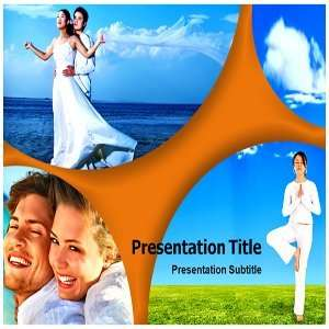 Happy Life PowerPoint Template   PPT Templates on Happy Life Software