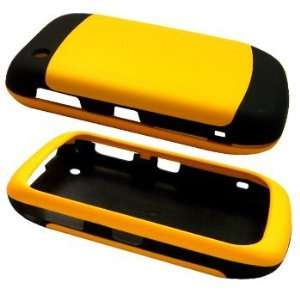 Yellow/Black Two Tone Soft Touch Hard Case / Cover / Shell