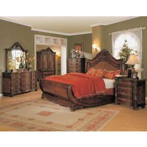 Yuan Tai JS5100Q Jasper Queen Bedroom set Home & Kitchen